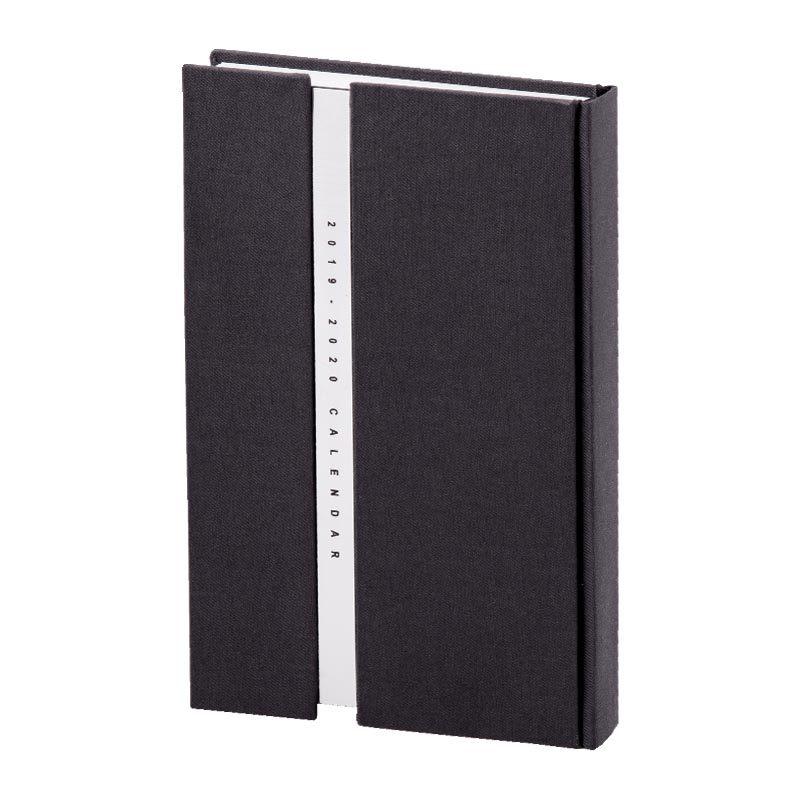 سررسید وزیری 1398 همراه مولتی استایل - جلد فرانسوی پارچه ای | رنگ خاکستری