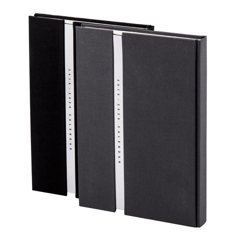 سررسید وزیری 1398 همراه مولتی استایل - جلد فرانسوی پارچه ای | طرح رو سررسید | در ۲ رنگ