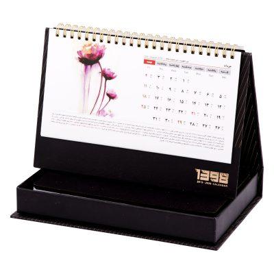 تقویم رومیزی و سالنامه 1398 | سالنامه اروپایی و تقویم رومیزی | جلد و جعبه سخت