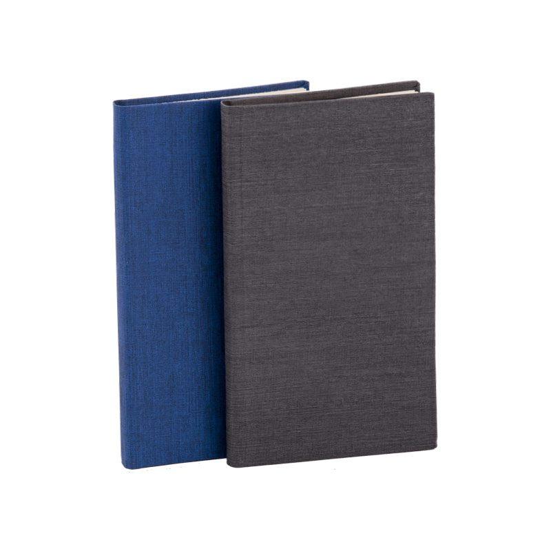تقویم جیبی 1398 با جلد گالینگور کتان | نمای پشت تقویم