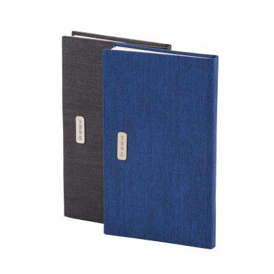 تقویم جیبی 1398 با جلد گالینگور کتان | نمای جلو تقویم
