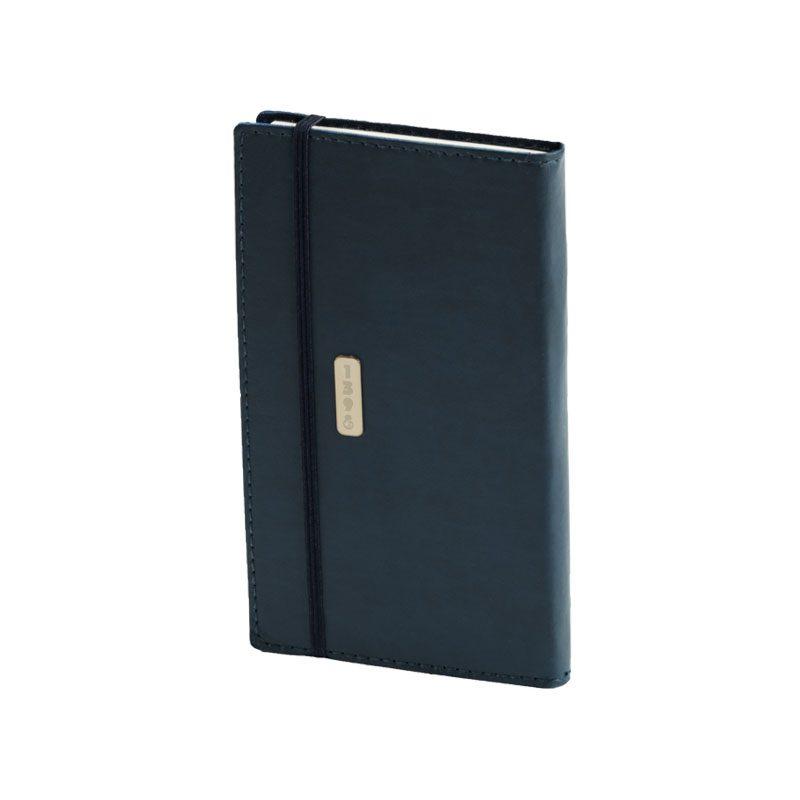 تقویم جیبی 1398 با جلد نرم کش دار | رنگ سرمه ای