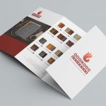 فایل طراحی بروشور 4 لت