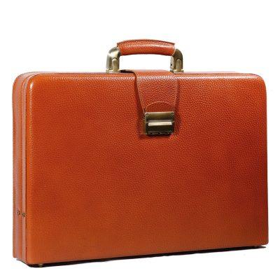 کیف چرم مردانه | رنگ عسلی