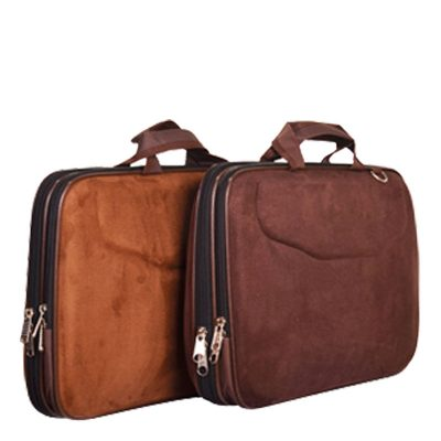 کیف چرم مردانه | رنگ عسلی و قهوه ای